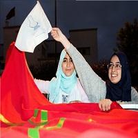 تصویر آن سوی پیروزی حزب «عدالت و توسعه» در انتخابات پارلمانی مراکش