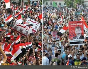 تصویر ادامه تظاهرات دانشجویان دانشگاه های مصر برعلیه کودتا
