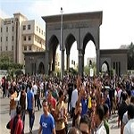 تصویر اخراج ۷۱ دانشجو از دانشگاه الازهر