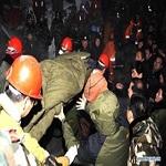 تصویر انفجار مهیب در معدن زغال سنگ در ترکیه