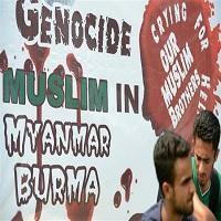 تصویر دنیای به این بزرگی برای قوم مسلمان روهینگیا، جایی ندارد
