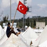تصویر اعطای جایزه حقوق بشر اسلامی ۲۰۱۵ به ترکیه