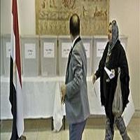 تصویر حضور کم رنگ مصری ها در انتخابات پارلمانی