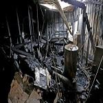 تصویر مسلمانان آمریکایی مردی را بخشیدند که مرکز اسلامی شهرشان را آتش زده بود