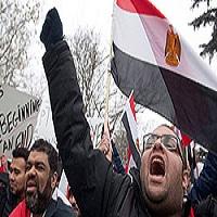 تصویر آغاز «انقلاب بیچارگان» در مصر