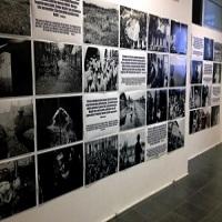 تصویر تصویر رنج های مسلمانان میانمار در نمایشگاهی در ترکیه