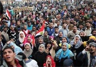 تصویر اخوان المسلمین تاکید کرد به تظاهرات مسالمت آمیز خود ادامه می دهد.