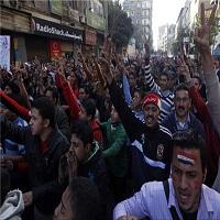 تصویر فراخوان برگزاری تظاهرات در مصر در اعتراض به توافق قاهره-ریاض