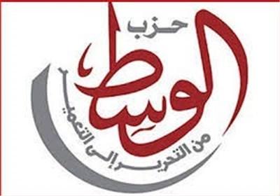 تصویر تحریم همه پرسی قانون اساسی توسط حزب الوسط مصر