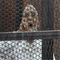 تصویر ممانعت مسئولان مصر از ملاقات «محمد بدیع» با خانوادهاش