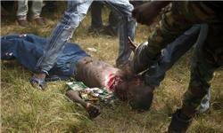 تصویر ادامه کشتار در آفریقای مرکزی
