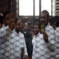 تصویر دادگاه نظامی مصر حکم اعدام ۷ اخوانی دیگر را به مفتی ارجاع داد