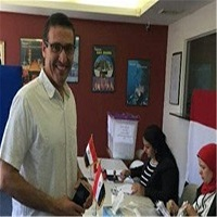 تصویر آغاز انتخابات پارلمانی مصر در خارج