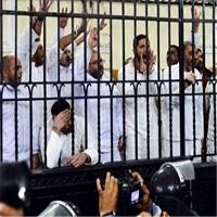 تصویر دادگاه مصر ۹۷ اخوانی را به حبس ابد محکوم کرد