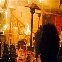 تصویر ۱۸ نفر در حمله به یک رستوران در مصر کشته شدند