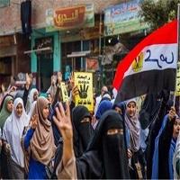 تصویر تظاهرات مخالفان دولت مصر با نزدیک شدن به سالروز انقلاب ۲۵ ژانویه