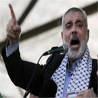 تصویر هنیه رهبران عرب را به حمایت از انتفاضه فراخواند