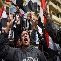 تصویر تظاهرات مخالفان دولت السیسی در اعتراض به اوضاع نابسامان معیشتی