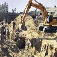 تصویر ارتش مصر ۲ تونل دیگر در مرز غزه را تخریب کرد