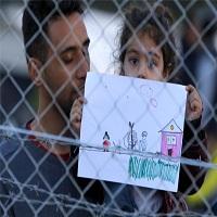 تصویر مقدونیه مرزهای خود را به صورت کامل بهروی مهاجران بست