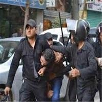 تصویر فراخوان برگزاری تظاهرات و شعار نویسی علیه السیسی بر دیوارهای قاهره