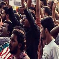 تصویر جمعه، میعاد تظاهرات مسلمانان هندی علیه سفر رئیس رژیم صهیونیستی به «دهلینو»