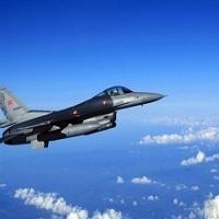تصویر اولین حمله هوایی ترکیه علیه مواضع داعش
