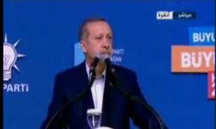 تصویر اردوغان: برخی طرفها از دستاوردهای اخیر ترکیه ناراحت هستند.