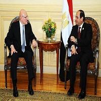 تصویر هشدار سیسی به لبنانیها بر سر سوریه