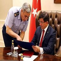 تصویر ترکیه گرفتار در دو جنگ متفاوت
