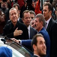 تصویر جان تازهای که اخوان المسلمین از پیروزی اردوغان گرفت