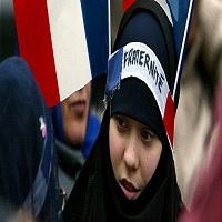 تصویر جدال سکولاریسم فرانسوی با اسلام