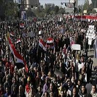 تصویر تظاهرات گسترده مصریها علیه وضعیت اقتصادی و خفقان سیاسی