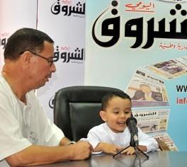 تصویر کودک سه ساله حافظ کل قرآن کریم