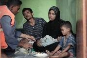 تصویر حمایت مسلمانان میانمار توسط مسلمانان آمریکا