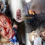 تصویر غزه ، صبح شنبه را خونین آغاز کرد