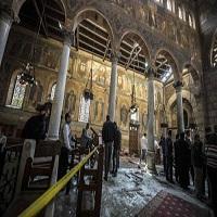 تصویر وزارت کشور مصر، اخوان المسلمین را به دست داشتن در انفجار کلیسای قبطی متهم کرد