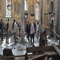 تصویر اهداف پشت پرده انفجار کلیسای قبطیها در مصر