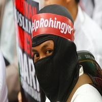 تصویر نخست وزیر مالزی خواستار دخالت جهانی برای توقف کشتار مسلمانان میانمار شد