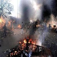 تصویر آتش مسلمان کشی بار دیگر در هند شعله ور شد