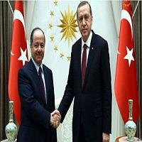 بارزانی و اردوغان