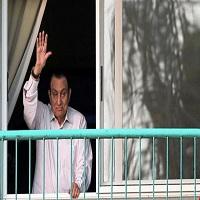 تصویر حسنی مبارک پس از ۶ سال از زندان آزاد شد