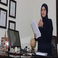 تصویر تعیین یک زن محجبه فلسطینی به عنوان قاضی در دادگاههای رژیم صهیونیستی