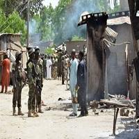 تصویر حمله انتحاری به مسجد «مایدوگوری» نیجریه