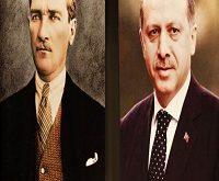 اردوغان و آتاتورک