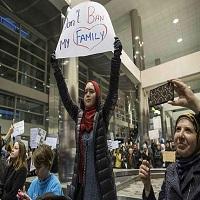 تصویر پرونده ممنوعیت مسافرت مسلمانان به آمریکا چگونه دیده میشود؟