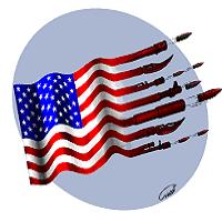 تصویر خودخواهی و جنگ افروزی آمریکا