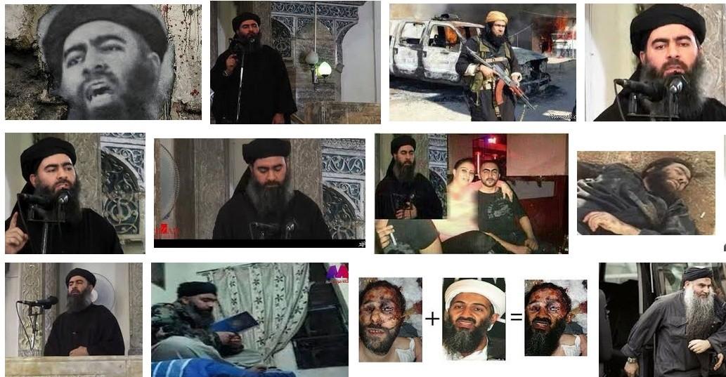 تصویر داعش ، مرگ ابوبکر بغدادی و پایان یک سناریو!