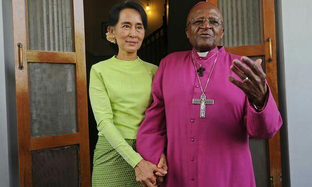 تصویر اسقف اعظم آفریقای جنوبی به «سوچی» هشدارداد: سکوت تو بهایی سنگین دارد