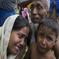 تصویر بیش از ۲۵ هزار نفر از مسلمانان میانمار طی یک سال کشته شدند